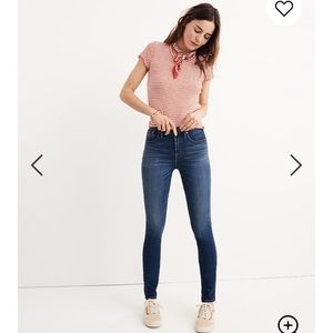 Madewell high rise skinny jeans Sz 26 barely worn
